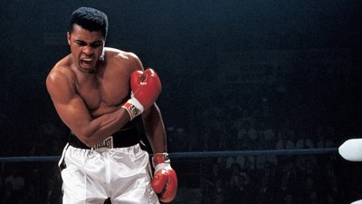 Watch Muhammad Ali's reply when asked if he has a bodyguard