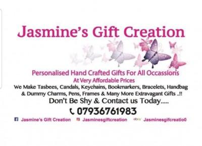 Jasmine's Gift Creation