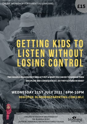 GETTING KIDS TO LISTEN WITHOUT LOSING CONTROL