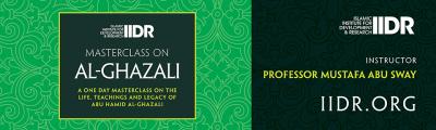 MasterClass on Al-Ghazali