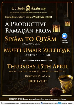 A Productive Ramadan from Siyam to Qiyam