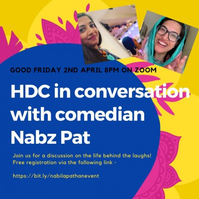 Halal Dinner Club in Conversation with Comedian Nabz Pat