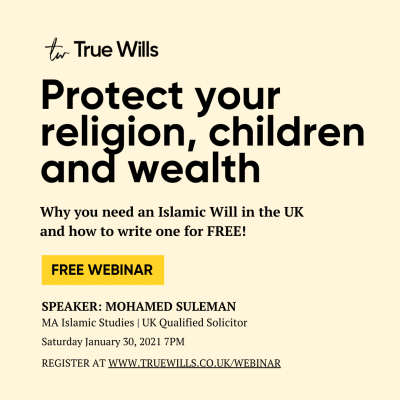 Why you need an Islamic Will in the UK