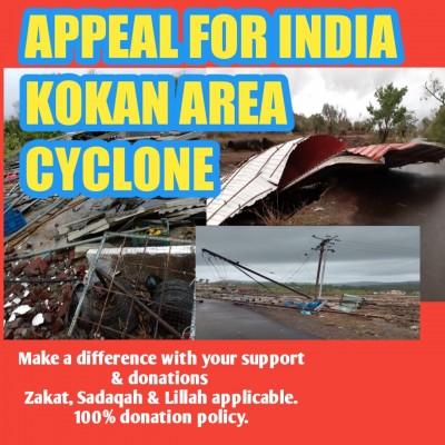 Kokan Area Cyclone