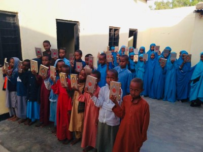 Distributing Quran in Somaliland