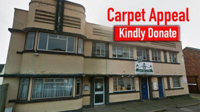 Urgently need to replace carpet for Masjid-Noor-ul-Islam, Linden Street Education Centre